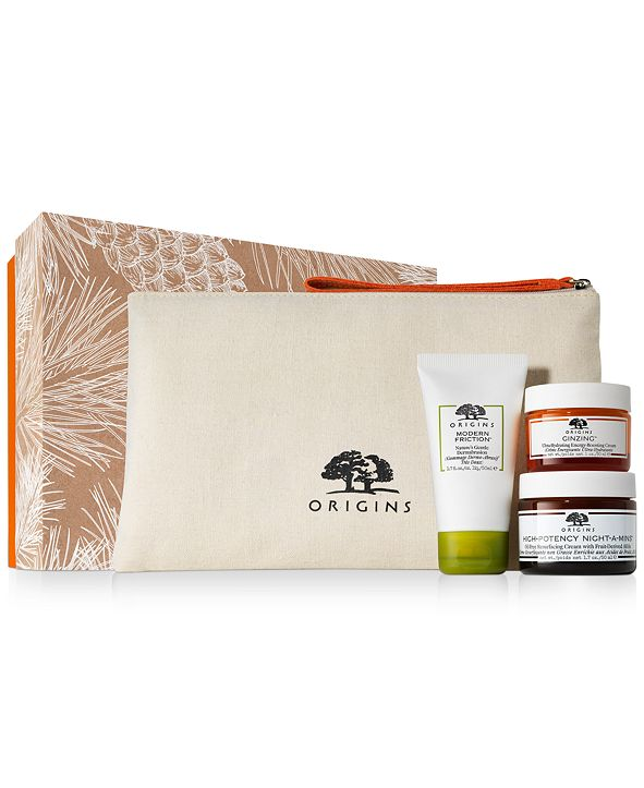 Origins 4-Pc. Glowing Greats Day-To-Night Resurfacing & Hydrating Set
