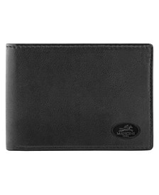 Manchester Collection Men's RFID Secure Slim Center Wing Wallet