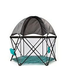 Go With Me Eclipse Deluxe Portable Playard With Canopy