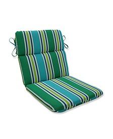 Aruba Stripe Rounded Corners Chair Cushion