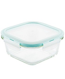Purely Better Glass 16-Oz. Square Food Storage Container