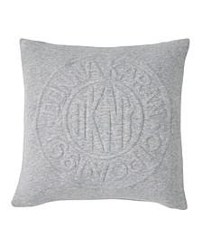 Circle Logo 16 Square Decorative Pillow