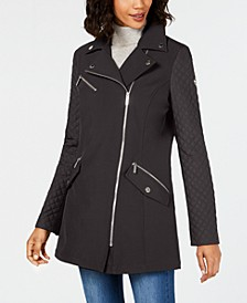 Asymmetrical Raincoat