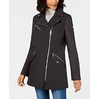 MICHAEL Michael Kors Asymmetrical Raincoat Deals