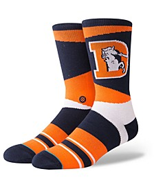 Denver Broncos Retro Crew Socks