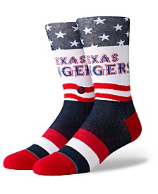 Stance Texas Rangers Stars Crew Socks