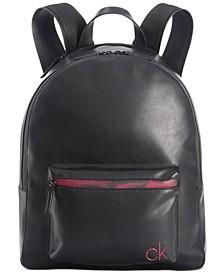 Men's Contrast-Trim Backpack