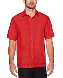 Men's Big & Tall Regular-Fit Ombré Geometric Shirt