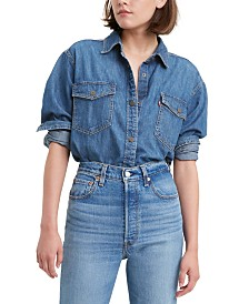 Levi's® Daniela Cotton Denim Shirt