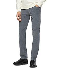 Men's Slim-Fit Stretch Corduroy Pants