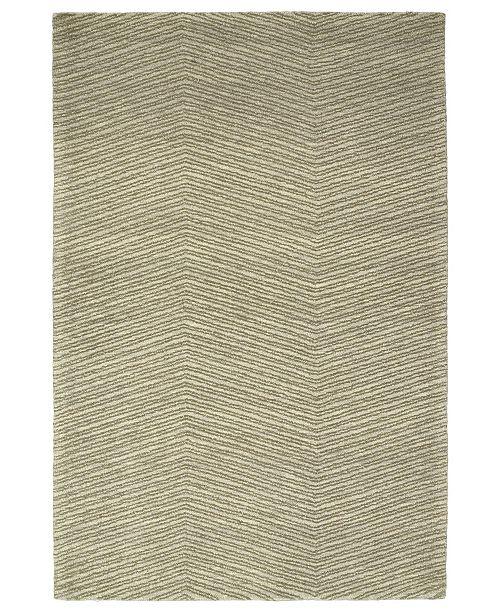 "Kaleen Textura TXT05-50 Green 5' x 7'9"" Area Rug"