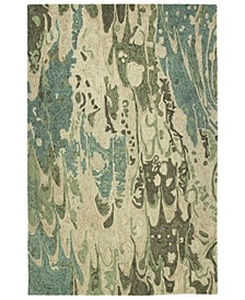 Marble MBL05-50 Green 8' x 11' Area Rug