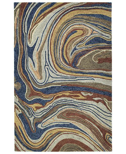 Kaleen Marble MBL06-86 Multi 2' x 3' Area Rug