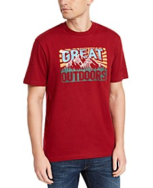 Men's Great Outdoors Graphic T-Shirt, Created For Macy's