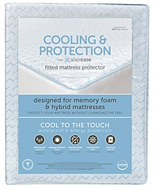Cooling and Protection Mattress Protector for Memory Foam Mattresses