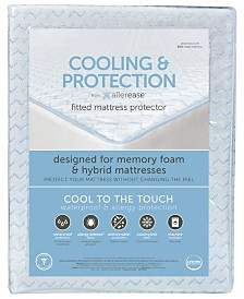 AllerEase Cooling and Protection Mattress Protector for Memory Foam Mattresses