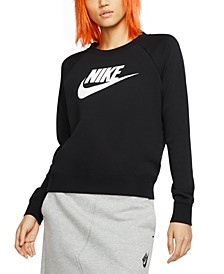 Women's Sportswear Essential Logo Fleece Sweatshirt