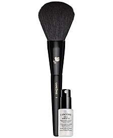Receive a FREE Lancome Foundation Brush & Fix It Forget It Setting Spray with a Teint Idole Ultra Foundation Purchase