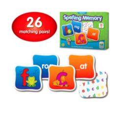The Learning Journey Match It Memory- Spelling