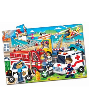 The Learning Journey Jumbo Floor Puzzles- Emergency Rescue