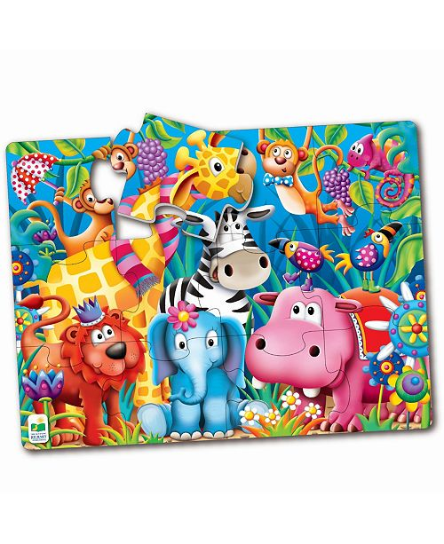 The Learning Journey My First Big Floor Puzzle- Jungle Friends