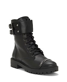 Jessica Simpson Kadrey Combat Boots