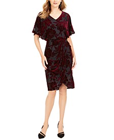 Velvet Burnout Sheath Dress, Created For Macy's