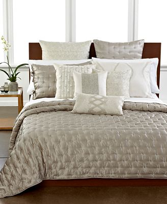 CLOSEOUT! Hotel Collection Finest Luster Silk Quilt Collection ... : silk quilt bedding - Adamdwight.com