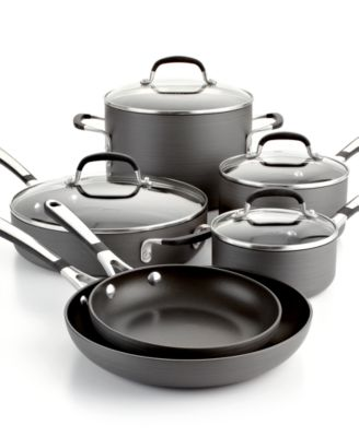 simply calphalon nonstick 10pc cookware set