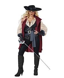 BuySeason Women's Lady Musketeer Costume