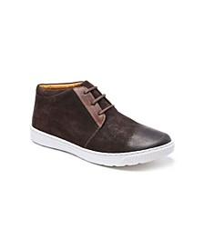 Plain Toe 3 Eyelet Chukka Boot