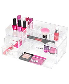 Cleary Chic Long Narrow 4 Drawer Organizer