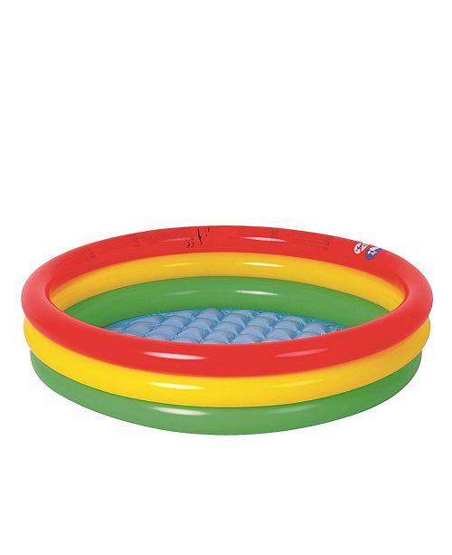 "Northlight 59"" Inflatable Round Kiddie Swimming Pool"