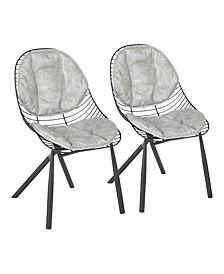 Wired Dining Chair, Set of 2
