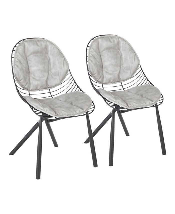 Lumisource - Wired Dining Chair, Quick Ship (Set of 2)