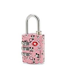 Disney TSA 3 Dial Combo Lock