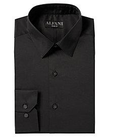 Alfani Men's AlfaTech Solid Dress Shirt, Created for Macy's