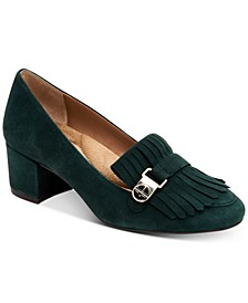 Ilianaa Kiltie Memory-Foam Pumps, Created for Macy's