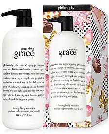 philosophy Amazing Grace Firming Body Emulsion, 32-oz.