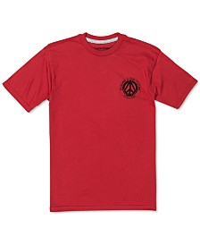 Volcom Big Boys Future-Print Cotton T-Shirt