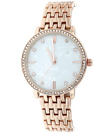 Women's Rose Gold Bracelet Watch 36mm