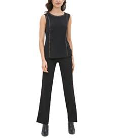 Calvin Klein Studded Sleeveless Top