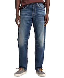 Silver Jeans Co. Men's Eddie Relaxed-Fit Tapered Jeans