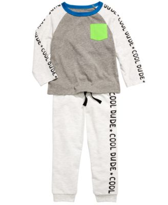 Baby Boys Cool Dude Jogger Pants, Created For Macy's