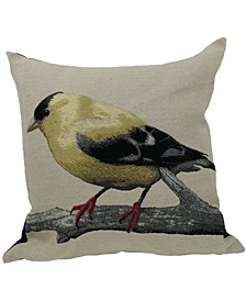 Bird Embroidery Pillow Collection