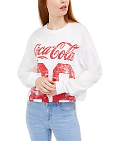 Juniors' Cotton Coca-Cola Graphic Top