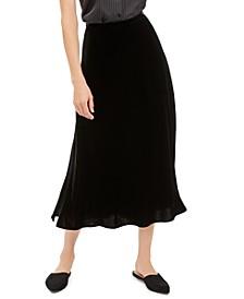 Side-Slit A-Line Skirt