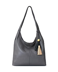 Huntley Leather Hobo
