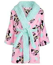 Toddler Girls Fleece Minnie Mouse Robe