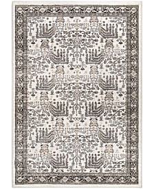 """Aria Persian Forest Silver Tone 5'1"""" x 7'6"""" Area Rug"""